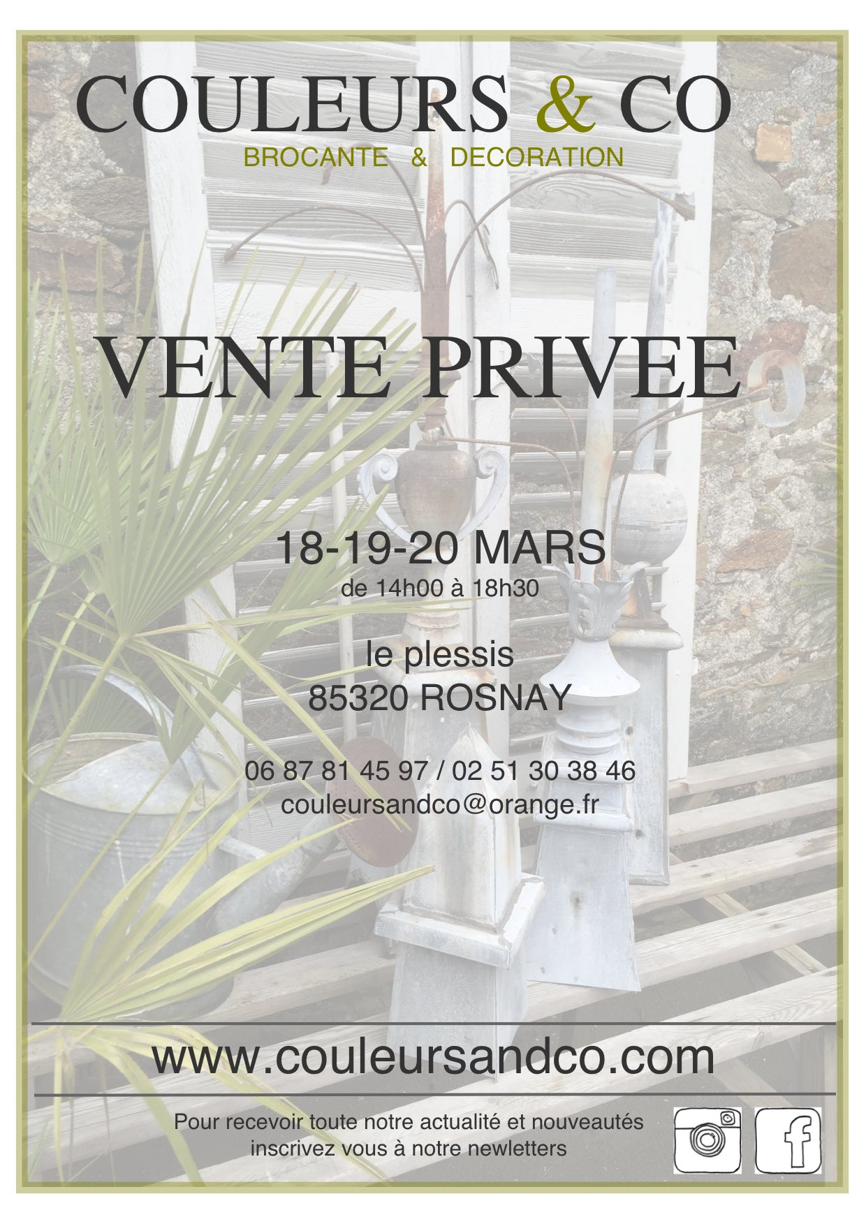 vente privée mars 2016
